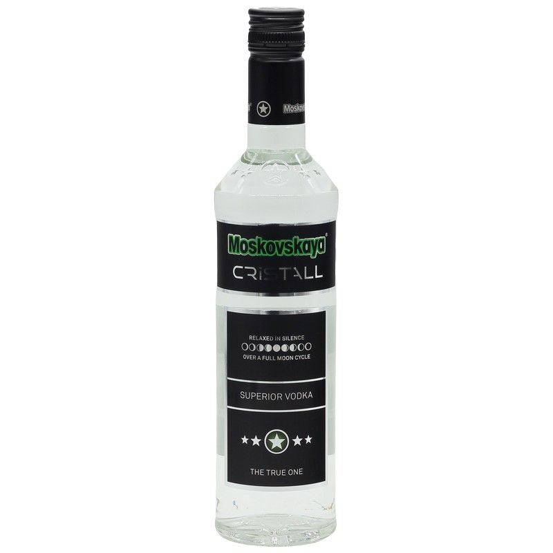 Moskovskaya Cristall Vodka 0,5 L 40%vol