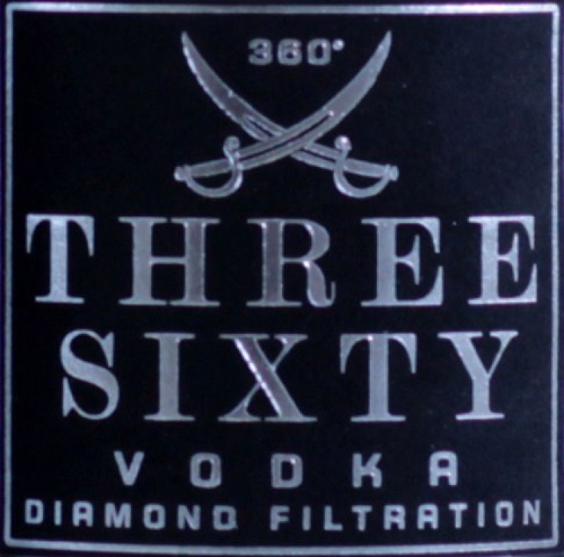 Three Sixty Vodka 3 Liter Flasche