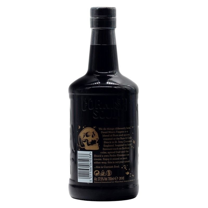 Dead Man's Fingers Spiced Rum 0,7 L 37,5% vol