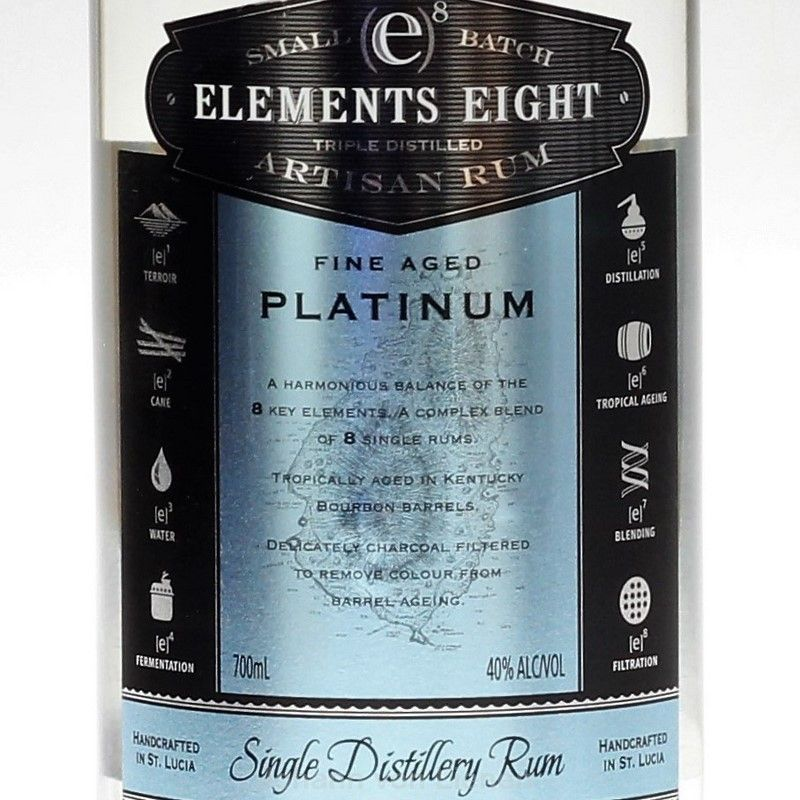 Elements 8 Platinum Dreifach dest. 0,7 L40%vol