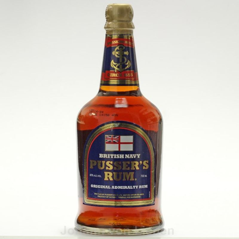 Pussers Rum British Navy 0,7 Ltr. 40%vol