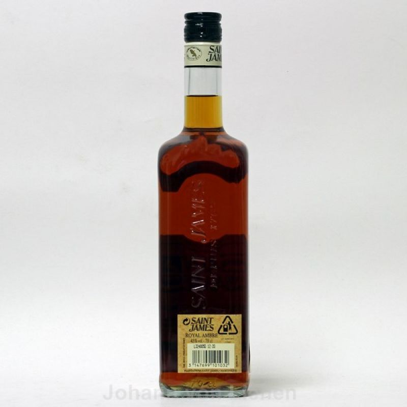 Saint James Rum Royal Ambre 0,7 L 45%vol