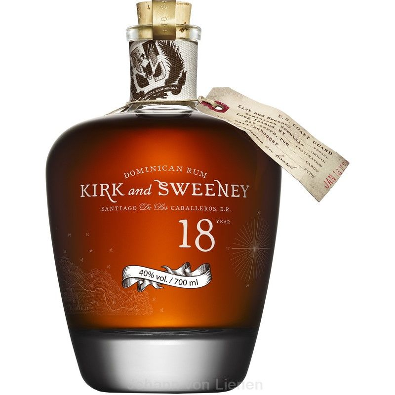 Kirk and Sweeney 18 Jahre 0,7 L 40%vol