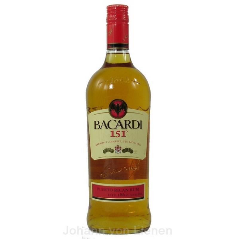 jashopping.de Bacardi 151 ° 1 L 75,5%vol.