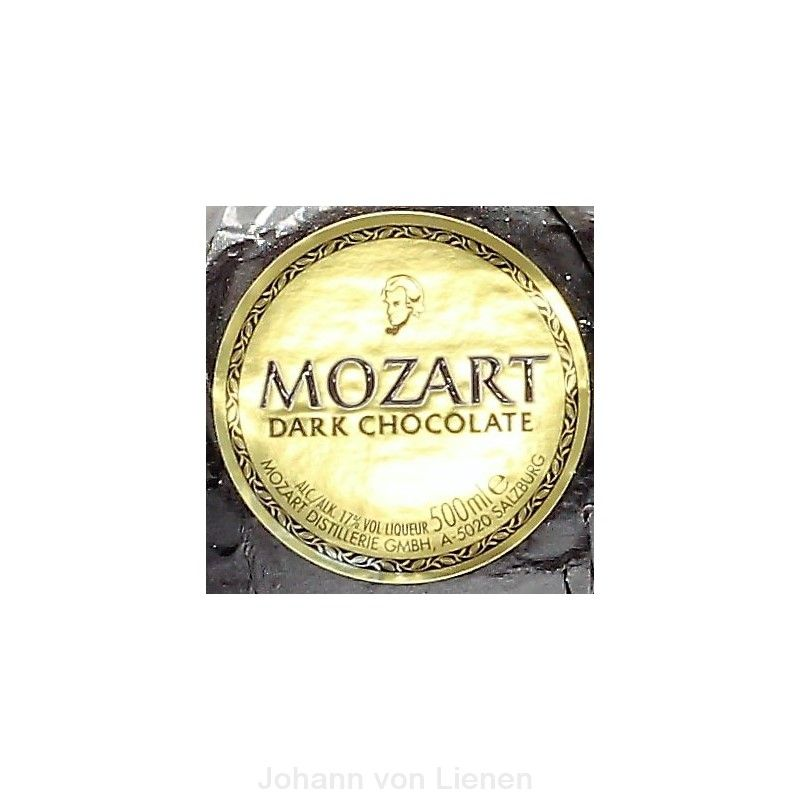 Mozart Dark Chocolate Black Liqueur  0,5 L 17%vol