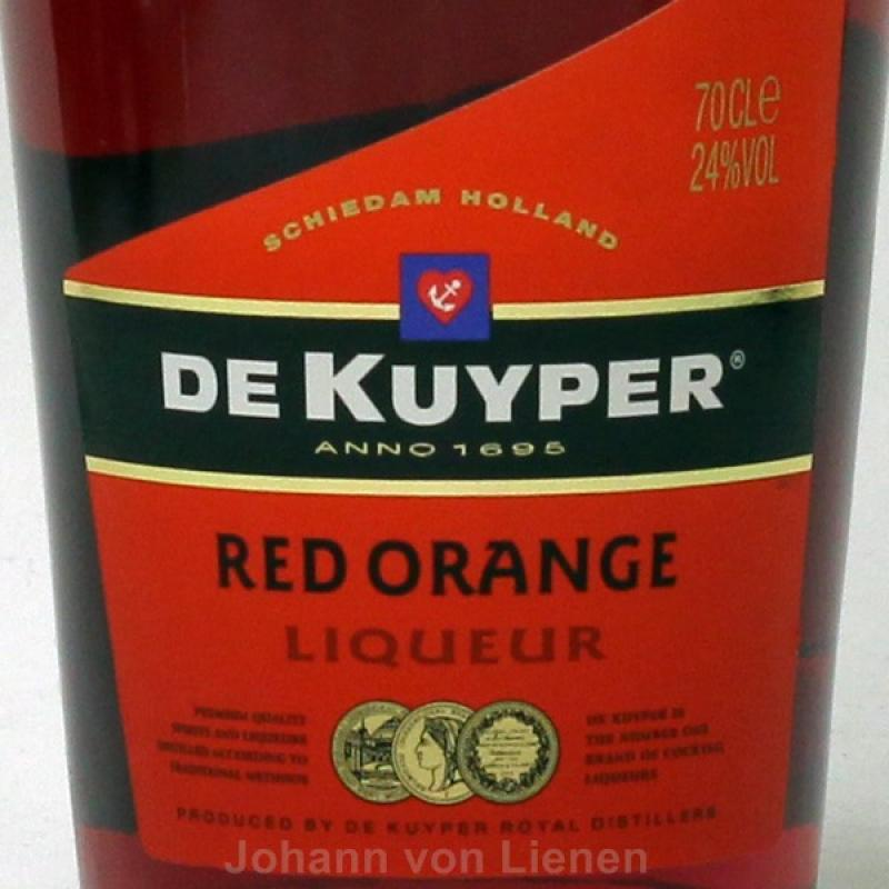 De Kuyper Red Orange 0,7 L 24%vol