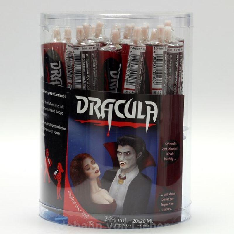 jashopping.de 20 Dracula Liqueur Likör Spritzen 0,02 L 24%vol