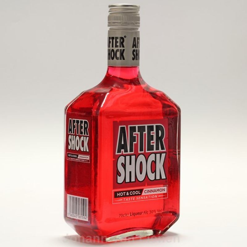 After Shock Red Hot & Cool Cinnamon Liqueur 0,7 L 30%vol
